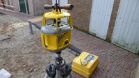 trimble GL 722 double slope rotating laser + scope + remote control